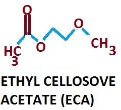 ETHYL CELLOSOLVE ACETATE (ECA) in  Btm 2nd Stage