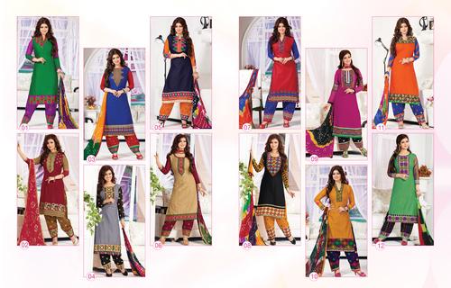 Women Designer Salwar Kameez  in   OPPOSITE DR WORLD