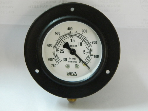 Vacuum Gauge 2.5 Inch Panel Mount in  Udyog Nagar - Rohtak Road