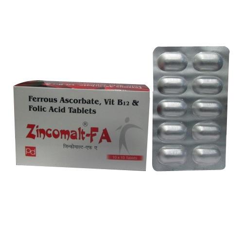 Ferrous Ascorbate - Vit B12 and Folic Acid Tablet in   Zirakpur