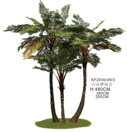 Artificial Ferns Palm Trees