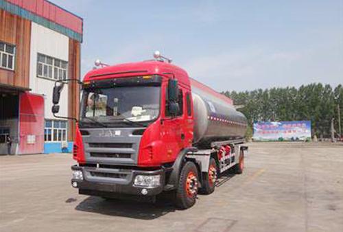 22.4 CBM Edible Oils Tanker Trailer in  Handian Industrial Zone