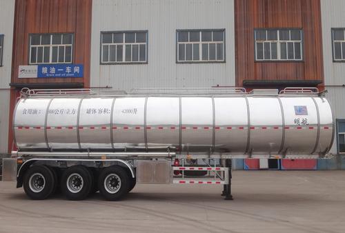 42 CBM Edible Oils Tanker Trailer in  Handian Industrial Zone
