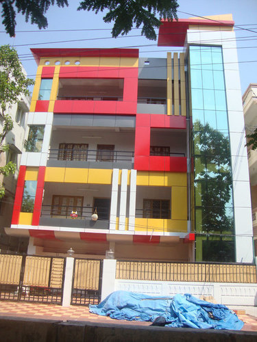 Front Elevation In Ludhiana : Acp front elevation in dashmesh nagar gill road