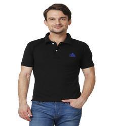 Black Polo T-Shirt in  Mithapur
