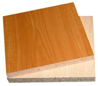 Pre-Laminated Particle Board