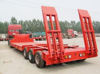 150 Ton Heavy Duty Low Bed Trailer