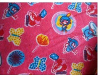 Nursery Printed Flannel Fabrics