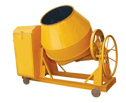 Concrete Mixer in   Opp Ice Factory