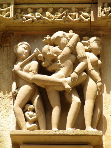 Arotic Sand Stone Figure  in  Kalyan Ji Ka Rasta (Chandpole)