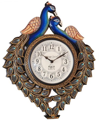 Peacock Design Vintage Clocks in  Dakshineswar