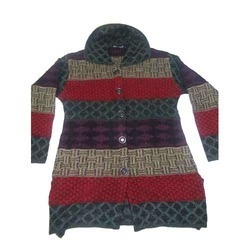 Ladies Fancy Woolen Coat