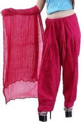Pink Ladies Salwar with Dupatta in  Lajpat Nagar - Iv
