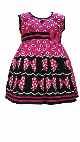 Designer Baby Cotton Frock in  Malad (W)