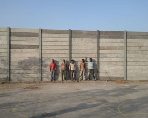 Rcc Lift In Wall : Rcc compound wall in unnao uttar pradesh sangam cement