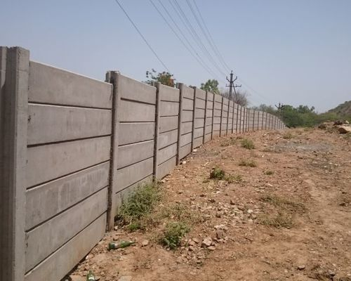 Precast Rcc Wall : Precast compound wall in unnao uttar pradesh sangam
