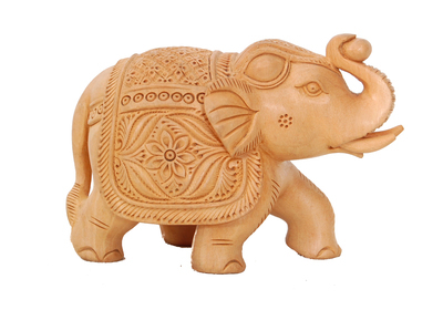 Wooden Handicrafted Elephant Statue