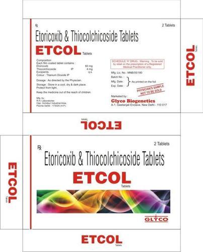 Etoricoxib Tablets Price