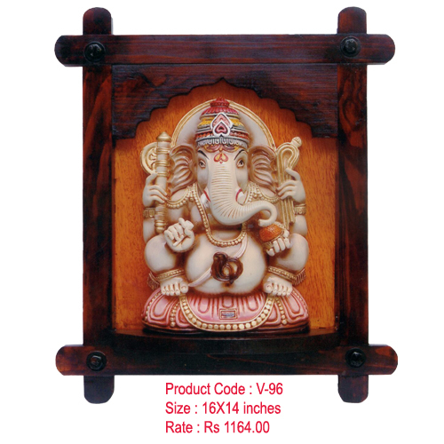 Ganesha Wooden Photo Frames