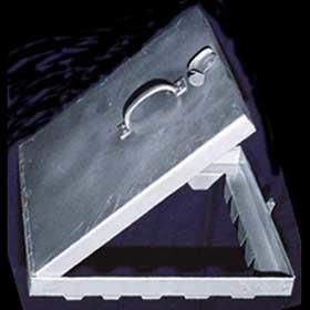 Access Door With Piano Type Hinged Door