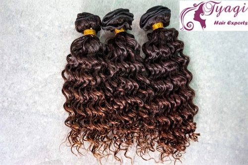 Deep Curly Human Hair in  Phase-Ii