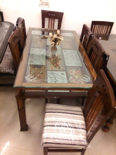 Designer Wooden Dining Table Chairs Sets In New Delhi Delhi New Paradise Furniture