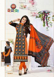 Unstitched Cotton Salwar Suit