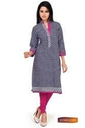 Ladies Colorful Long Kurti in  Malvani-Malad (W)