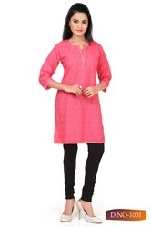 Ladies Simple Shorts Kurti in  Malvani-Malad (W)