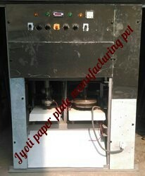 SS Body Double Die Dona Plate Making Machines