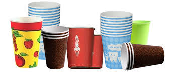 Colored Printed Paper Cups