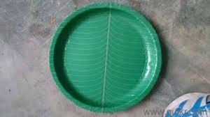 Colored Paper Plates