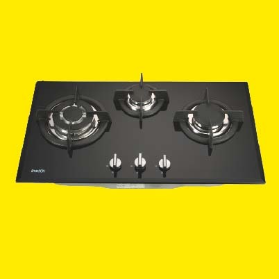 Toughened Glass Hobs With Saftey Device