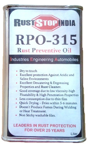 Rust Stop RPO-315 Rust Preventive Oil
