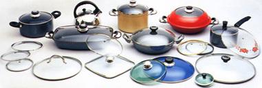 Cookware Glass Lid