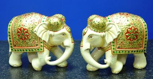 Wooden Handicrafts Elephants