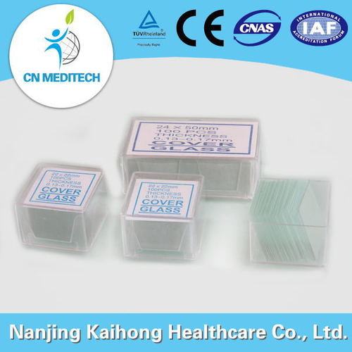 Disposable Lab Microscope Slides Cover Glass