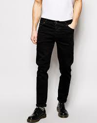 Fancy Look Black Denim Mens Jeans in  New Cloth Market