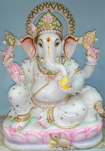 Ganesha Marble Statue in  Gopalapuram