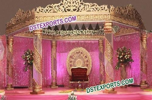 Asian Wedding Mandap (New Design)
