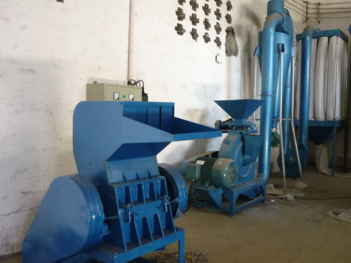 SX-700 Aluminum Plastic Composite Recycling Machine