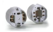 Pin CFL Round Holder