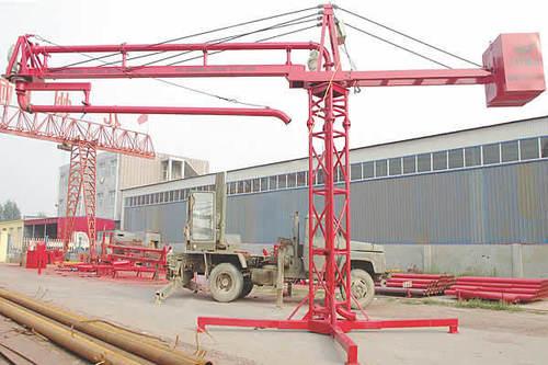 Hydraulic Concrete Placing Boom