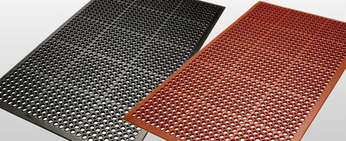 Rubber Mats in   Industrial Area
