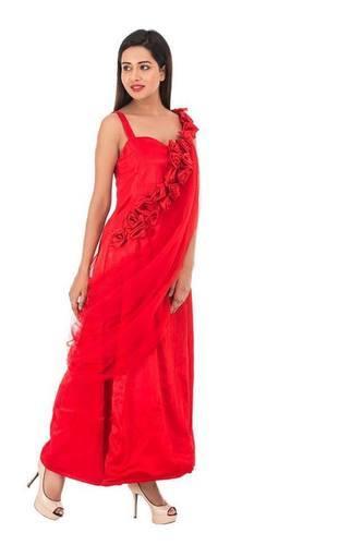 Ladies Rose Gown