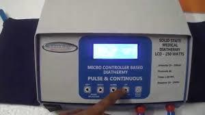 Solid State Diathermy -500WT in  Hari Nagar Ashram