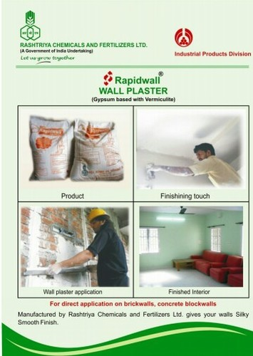Rapidwall Gypsum Plaster in  Kamothe
