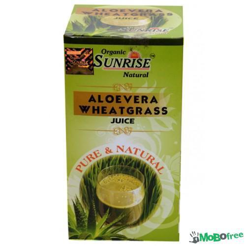 Aloevera Wheatgrass Juice
