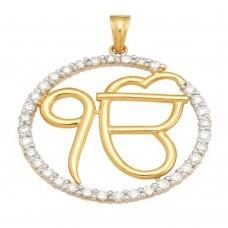 Divine ek onkar gold pendant in new delhi delhi roop gems divine ek onkar gold pendant in karol bagh aloadofball Choice Image
