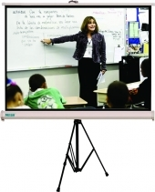Tripod and Portable Projection Screen